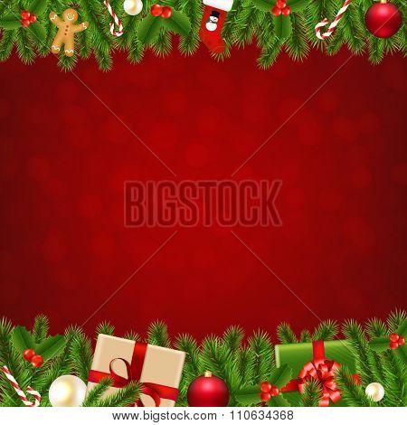 Xmas Christmas Borders