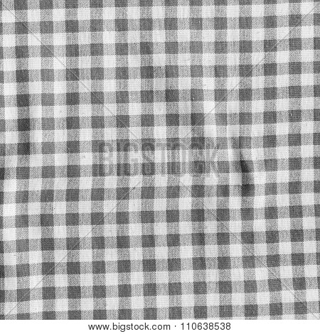 Checkered Fabric Texture.