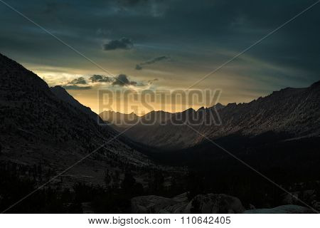 Sunset In Kings Canyon National Park