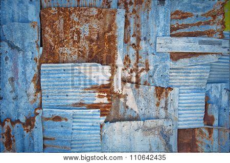 Corrugated Iron Somalia Flag