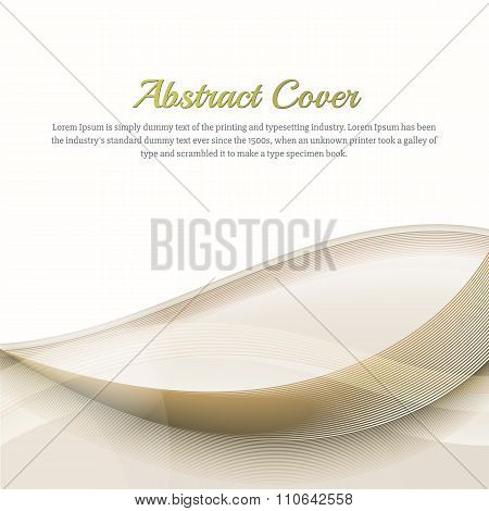Clean Background With Orange And Yellow  Gradient. Business