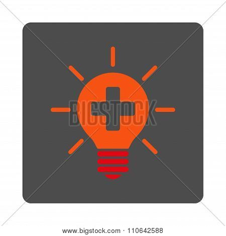Medical Lamp Flat Button