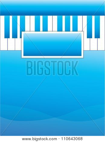 Piano Lesson Flyer Background