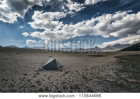 Camping In The Sierra Nevada Mountains
