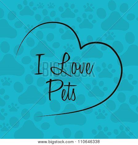Animals pet shop graphic
