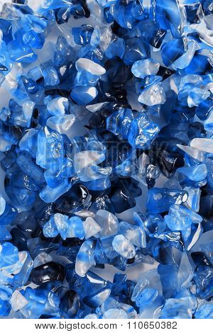 Blue Gems Closeup