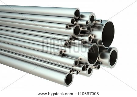 Set Of Steel Pipes