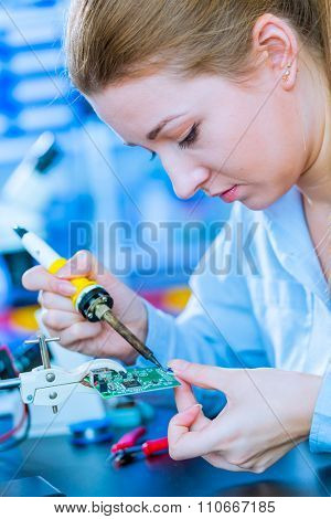 Soldering of electronic  controller