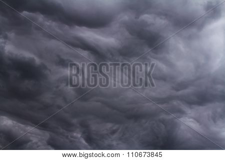 Cloudy Sky, Nature Background.