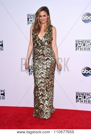 LOS ANGELES - NOV 22:  Alicia Silverstone arrives to the American Music Awards 2015  on November 22, 2015 in Los Angeles, CA.