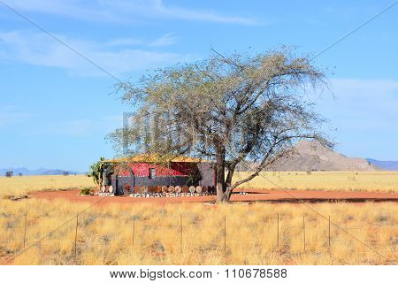 Typical house in Namib-Naukluft National Park
