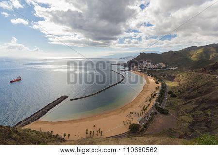 White Sand Beach Aerial - Ocean And Beach ,
