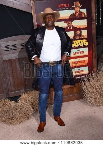 LOS ANGELES - NOV 30:  Terry Crews arrives to the