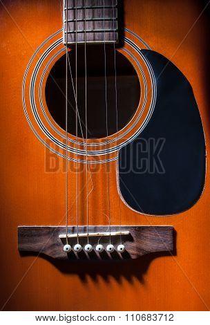 Guitar With Broken Strings
