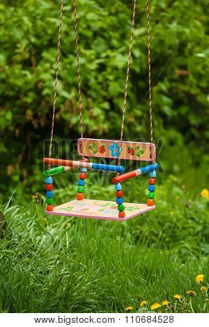 Empty Child's Swing
