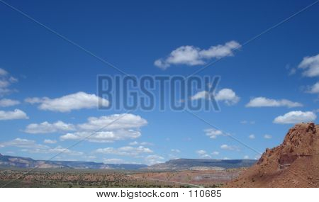 Desert Mountain Skyline