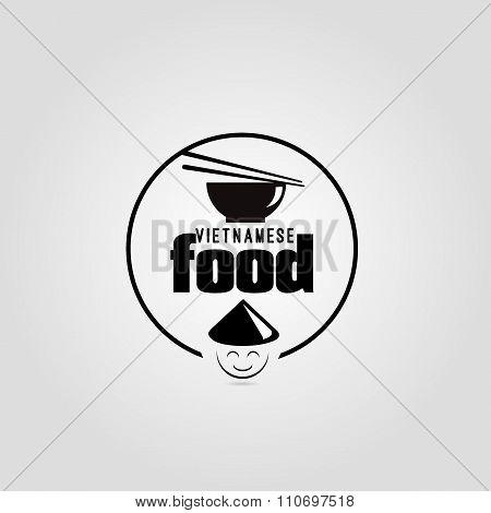 Vietnamese food icon