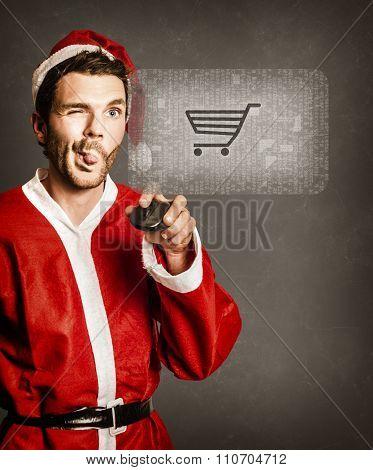 Santas Little Helper Shopping Online