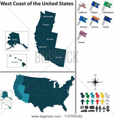 West Coast Of The United States