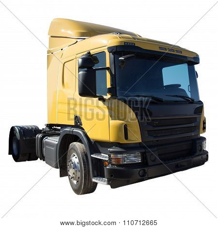 Truck Isolated On White Background