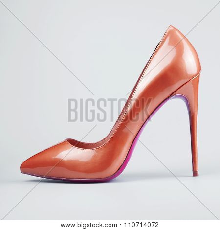Red Female Sexy Shoes