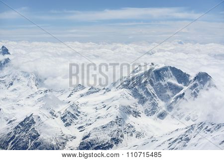 View From The Mountain Elbrus
