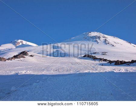 Sunrise On The Mountain Elbrus