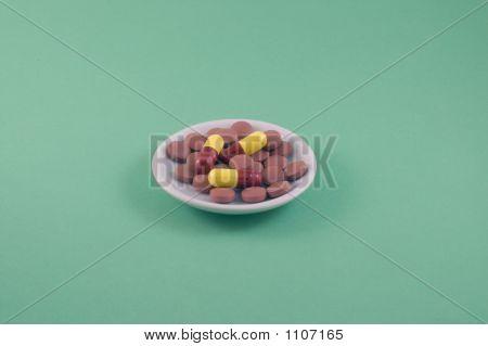 Pills On A Plate 1
