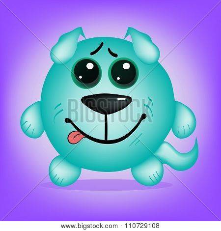 Original Dog Smiling