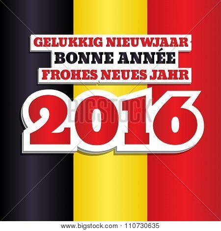 Belgium Flag 2016