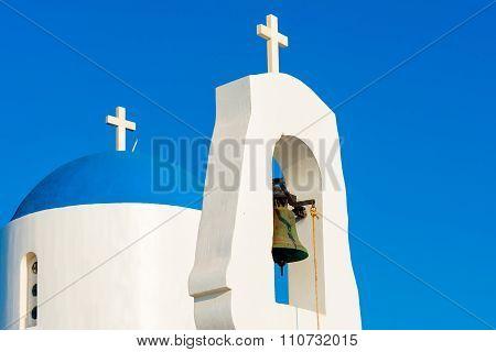 White Chapel. Protaras, Cyprus