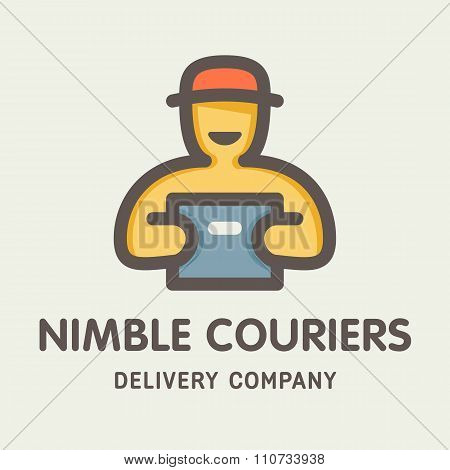Nimble Couriers Logotype