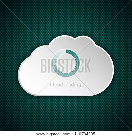 Cloud Interface Loading Screen
