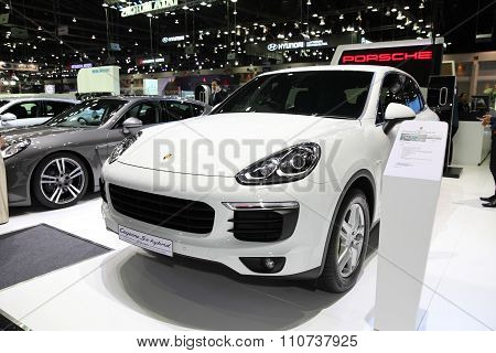Bangkok - December 1: Mg Mg5 Car On Display At The Motor Expo 2015 On December 1, 2015 In Bangkok, T