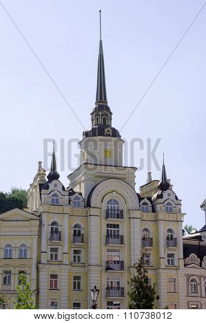 Building With A Spire
