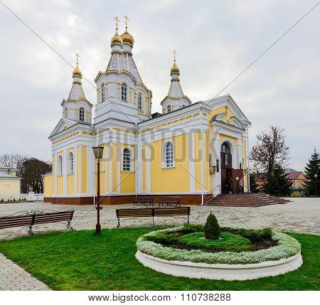 Cathedral Of St. Alexander Nevsky (st. Alexander Nevsky Cathedral), Kobrin, Belarus
