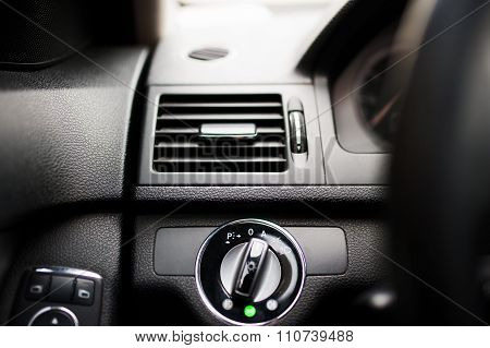 Modern Car Air Conditioning And Ventilation System