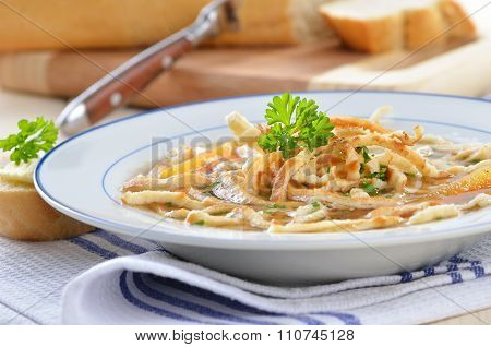 Pancake soup