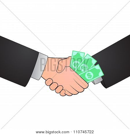 Handshake corruption concept