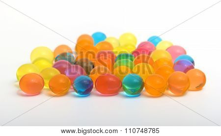 Colorful Shiny Gel Balls