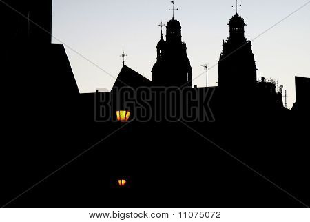 A light close to Cathedral