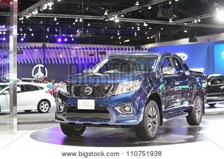 Bangkok - December 1:nissan Navara Np300 Car On Display At The Motor Expo 2015 On December 1, 2015 I