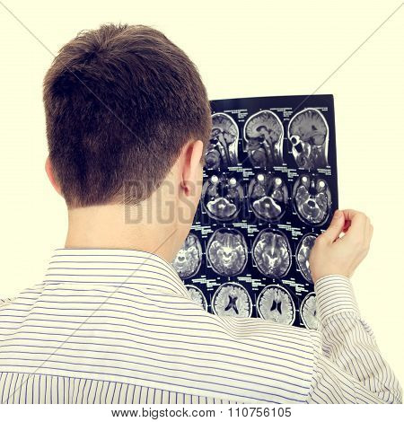Man With Tomography