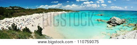 Beach On Bermuda Islands