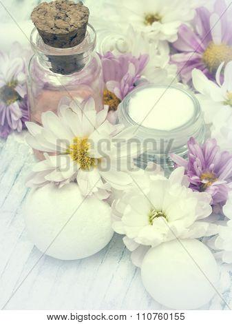 spa arrangement, fresh as flowers