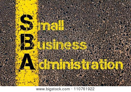 Accounting Business Acronym Sba Small Business Administration