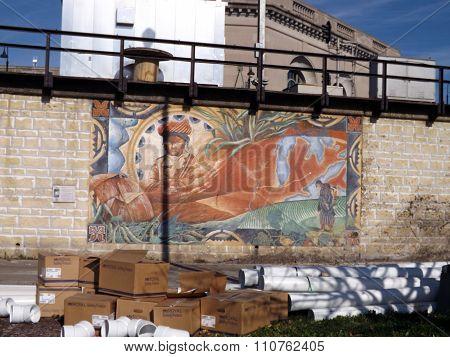 Mural: The Sauk Trail