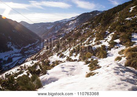 El Tarter Hillside