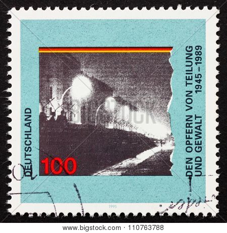 Postage Stamp Germany 1995 Berlin Wall