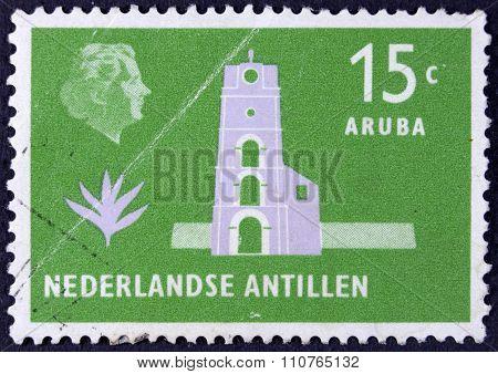 Postage stamp from the nederlandse antillen